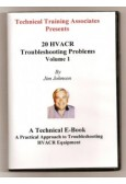 20 HVAC/R Troubleshooting Problems, Volume 1
