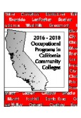 2016-18 Occupational Programs in California Community College