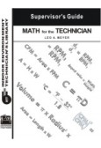Math for the Technician Supervisor's Guide