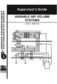 Variable Air Volume Systems Supervisor's Guide
