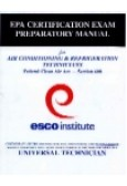 EPA Certification Exam Preparatory Manual