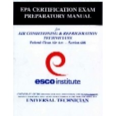 EPA Section 608 Preparatory Manual